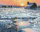 Dimensions Crafts The Gold Collection Counted Cross Stitch Kit Winter Morning