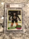 1980-81 TOPPS BGS 5.5 RAY BOURQUE BECKETT GRADED #140 ROOKIE RC BRUINS