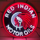 Red Indian Gasoline sign Texaco Star real neon NIB