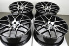 20 Wheels BMW 5 Series 525 528 530 540 645 650 740 750 760 M5 Black Rims 5x120
