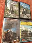 4 TRAIN MOVIE DVDS Steam in the Rockies DVDS NEW SHRINKWRAP