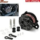 Air Cleaner Intake Filter Crafts For Harley Sportster XL1200 XL883 Custom 04 15