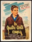 400 BlOWS 1959 French 47x62 L B poster Francois Truffaut COUPS filmartgallery