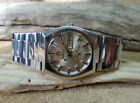 USED VINTAGE 70'S RADO GOLDEN SABRE SILVER DIAL DAYDATE AUTOMATIC MAN'S WATCH