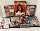 Jillian Michaels Workout And Biggest Loser Exercise Fitness DVD lot With Book