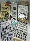 CLEARANCE Stamps  Stamps Die sets Ranger ArtC Martha Stewart Momenta  more