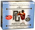 2013 Leaf Perfect Game National Showcase Baseball Sealed HOBBY BOX