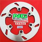 GAS GAS 300 EC 2T SIX DAYS 10 - 15 NG REAR BRAKE DISC OE QUALITY UPGRADE 1057