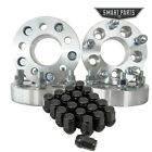 4 Jeep Wheel Adapters + 20 Lug Nuts for 5x45 to 5x5 125 32mm Jk to TJ YJ XJ