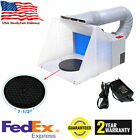 Hobby Airbrush Spray Booth Exhaust Filter Extractor Set Portable for Model Craft