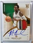2012-13 Panini Immaculate Basketball Rookie Autograph Patch Gallery, Guide 83