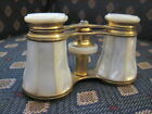 ANTIQUE MOTHER OF PEARL OPERA GLASSES LEMAIRE PARIS A STOWELL BOSTON