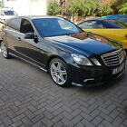 LARGER PHOTOS: 2011 Mercedes E class E350 cdi sport BLUE EFF