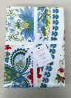 Williams Sonoma Berry Meadow Tablecloth 90 Round Floral NWT