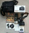 Canon DSLR 550D EOS Camera with EF-S 18-55 ID lens plus 2 batteries and Lowepro