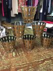 Vintage Mid Century Culver Pisa Low Ball Glasses Set Of Six Signed