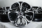 17 Wheels Cobalt Malibu Ford C Max Edge Escape Focus Fusion Taurus Black Rims