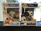 Funko Pop Disney Diamond Collection MICKEY Mouse & DUMBO Hot Topic Exclusive WOW