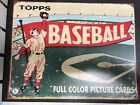 2006 TIN SIGN TOPPS 1954 BASEBALL FULL COLOR PICTURE CARDS SPORTS 12.5