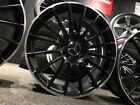 Ex Display 18 Mercedes AMG Style Satin black Alloy Wheels A Class B Class CLA +