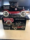 TEXACO 1918 FORD RUNABOUT DELIVERY TRUCK CAR - 1988 - #5 in Series NIB