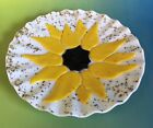 Unique Fused Glass Sunflower Art Glass Decorative Plate