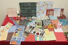 Mixed Lot of Scrapbooking  Craft Stickers Papers  Supplies A05