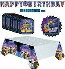 Lego 2 the Movie party supplies value pack for your kids birthday Serves 16
