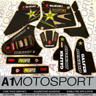 ROCKSTAR Factory Quality Graphics SUZUKI RM85 RM85L  2002-2019 Motocross Decals