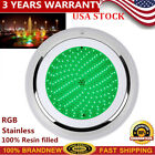 NEW Swimming Pool Resin Filled Light RGB 252 LED Waterproof Light Ultra Bright