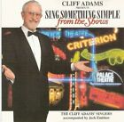 Sing Something Simple from the Shows CD