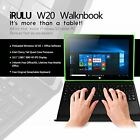 iRULU Tablet PC Laptop 2 in 1 Windows10 Intel Quad Core 2G RAM+32G SSDHD 101