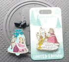 Belle Happy Holidays 2018 Authentic Disney Store Jingle Bell Series Pin Beauty