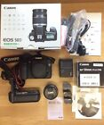 Canon EOS 50D Digital SLR+EF50mm f1.8 Lens +Canon Grip Fully Tested Boxed Exc ++
