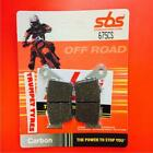 Borile B 500 CR MT 02 > ON SBS Rear Carbon Silver Brake Pads OE QUALITY 675CS