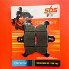 Cagiva 125 W 8 96 > ON SBS Front Ceramic Brake Pads Set OE QUALITY 641HF