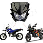 Universal Motorcycle Headlight Fairing Cover 35W H4 H/L Beam For Dirt Bikes