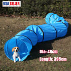 16 Agility Training Tunnel Pet Dog Play Outdoor Obedience Exercise Equipment 4M