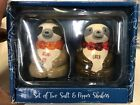 Sloth Salt and Pepper Shakers Ceramic Altard State Cute Animal New Other