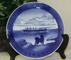 1968 Collectors Royal Copenhagen Christmas Plate W/stand