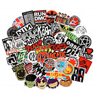 Band Stickers 100PCS Rock and Roll Music Stickers Pack Vinyl W