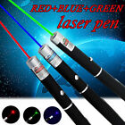 3PCS Red+Green+Blue Purple Laser Pointer Pen Visible Beam AAA Lazer Pet Cat Toy