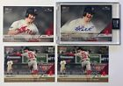 (4) 2018 Topps Now Brock Holt #685A Auto MOW-28 1st Cycle in Postseason History