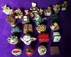 BOYDS BEARS TREASURE BOX FIGURINES - 25 PIECES - AMAZING COLLECTION