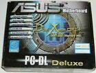 ASUS PC DL Deluxe Dual Xeon Motherboard Rev 105 w All Mfgr Included Items