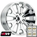 24 inch Chevy Silverado Replica Wheels Chrome CK161 Rims 6x550 +30 24x10