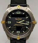 Breitling F65062 Aerospace Titanium with Papers GMT Chronograph Multifunction