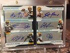 Green Bay Packers Sapphire 1 1!! 6 Auto Booklet-Brett Favre, Aaron Rodgers