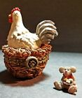 Boyd's Bears Treasure Box. Henrietta's Roost with Nester McNIBBLE! EXCELLENT!