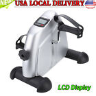 Portable Hand Foot Pedal Trainer Exerciser Mini Exercise Bike Bicycle for Indoor